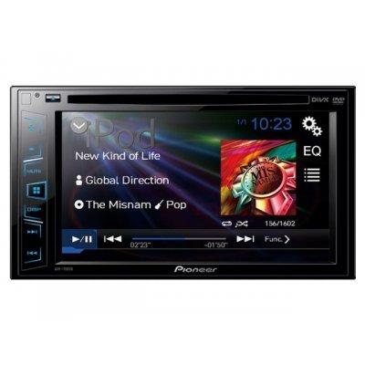 Автомагнитола Pioneer AVH-180 (AVH-180)Автомагнитолы Pioneer<br>2 DIN Автомобильный DVD ресивер с 6,2 сенсорным экраном.<br>