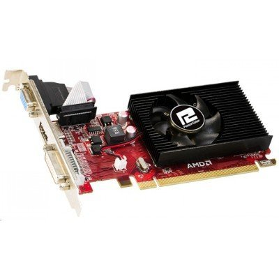 Видеокарта ПК PowerColor Radeon R5 230 625Mhz PCI-E 2.1 1024Mb 1000Mhz 64 bit DVI HDMI HDCP (AXR5 230 1GBK3-LHE)Видеокарты ПК PowerColor<br>Видеокарта PowerColor PCI-E AXR5 230 1GBK3-LHE AMD Radeon R5 230 1024Mb 64bit DDR3 625/1000 DVIx1/HDMIx1/CRTx1/HDCP oem<br>