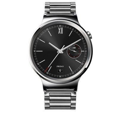 все цены на  Умные часы Huawei Watch Classic серебристый (MERCURY-G00)  онлайн