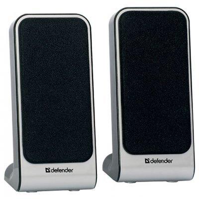 Компьютерная акустика Defender SPK 22 черный (65503)Компьютерная акустика Defender<br>компьютерная акустика стерео<br>суммарная мощность 4 Вт<br>однополосные колонки<br>материал корпуса колонок: пластик<br>питание от USB<br>диапазон частот 200 - 18000 Гц<br>разъем для наушников<br>