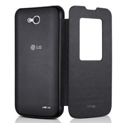 Чехол для смартфона LG для L80 CCF-510.AGRABK черный (CCF-510.AGRABK) (CCF-510.AGRABK) motorcycle accessories cnc aluminum black swingarm spools slider stand screws for yamaha mt 09 tracer bmw s1000rr triumph acesso