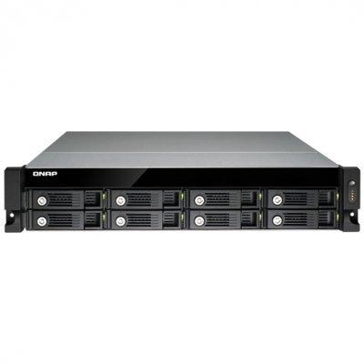 Сетевой накопитель NAS Qnap TS-853U (TS-853U)Сетевые накопители NAS Qnap<br>Сетевой RAID-накопитель, 8 отсеков для HDD, стоечное исполнение, один блок питания. Четырехъядерный Intel Celeron J1900 2,0 ГГц. Направляющие в комплект поставки не входят.<br>