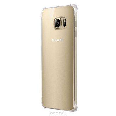 Чехол для смартфона Samsung для Galaxy S6 Edge+ GloCover G928 золотистый (EF-QG928MFEGRU) (EF-QG928MFEGRU) чехол для смартфона samsung для galaxy s6 edge gli g928 серебристый ef qg928msegru ef qg928msegru