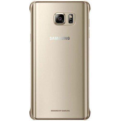 все цены на Чехол для смартфона Samsung для Galaxy Note 5 СlCover золотистый (EF-QN920CFEGRU) (EF-QN920CFEGRU) онлайн