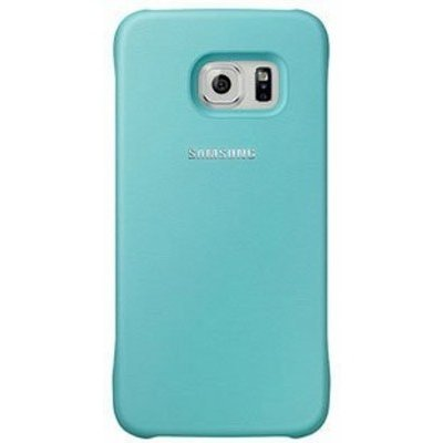 Чехол для смартфона Samsung для Galaxy S6 Protective Cover мятный (EF-YG920BMEGRU) (EF-YG920BMEGRU) аксессуар чехол накладка samsung sm g925 galaxy s6 edge protective cover mint ef yg925bmegru