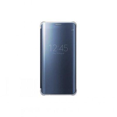 Чехол для смартфона Samsung для Galaxy S6 Edge+ Clear View Cover G928 темно-синий/прозрачный (EF-ZG928CBEGRU) (EF-ZG928CBEGRU)