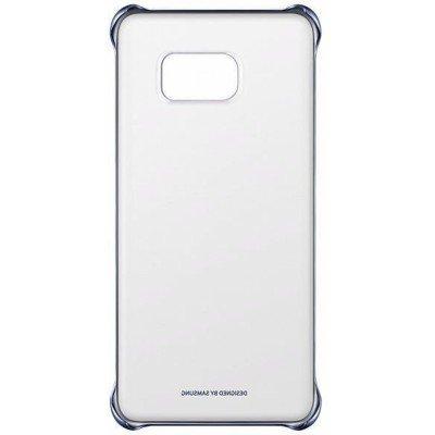 цена на Чехол для смартфона Samsung для Galaxy S6 Edge+ ClearCover G928 темно-синий/прозрачный (EF-QG928CBEGRU) (EF-QG928CBEGRU)