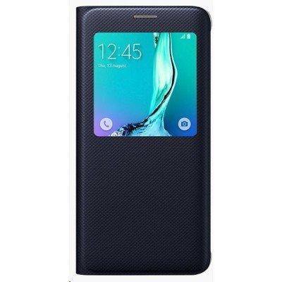 Чехол для смартфона Samsung для Galaxy S6 Edge+ S View G928 темно-синий (EF-CG928PBEGRU) (EF-CG928PBEGRU)Чехлы для смартфонов Samsung<br>Чехол (флип-кейс) Samsung для Samsung Galaxy S6 Edge Plus S View G928 темно-синий (EF-CG928PBEGRU)<br>