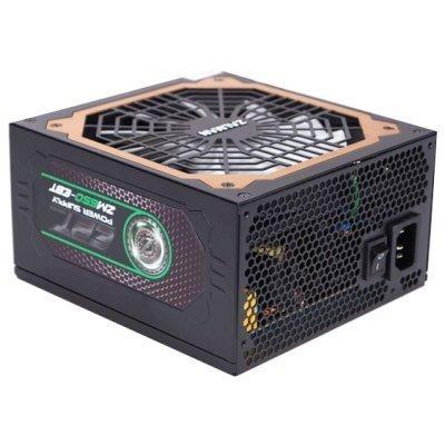Блок питания ПК ZALMAN ZM650-EBT 650W (ZM650-EBT)Блоки питания ПК ZALMAN<br>Блок питания Zalman ZM650-EBT, 650W, ATX12V v2.3, EPS, APFC, 14cm Fan, 80+ Gold, Retail<br>