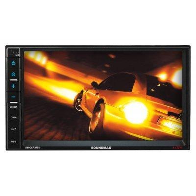 Автомагнитола Soundmax SM-CCR3704 (SM-CCR3704)Автомагнитолы Soundmax<br>Автомагнитола Soundmax SM-CCR3704 2DIN 4x50Вт<br>