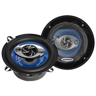Колонки автомобильные Soundmax SM-CSD503 (SM-CSD503)Колонки автомобильные Soundmax<br>трехполосная коаксиальная АС<br>типоразмер: 13 см (5 дюйм.)<br>номинальная мощность 60 Вт<br>максимальная мощность 120 Вт<br>чувствительность 91 дБ<br>импеданс 4 Ом<br>диапазон частот 80 - 20000 Гц<br>