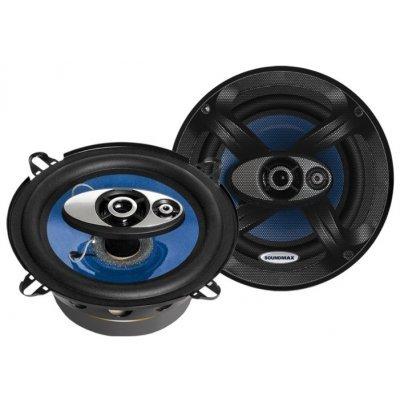 Колонки автомобильные Soundmax SM-CSC503 (SM-CSC503)Колонки автомобильные Soundmax<br>трехполосная коаксиальная АС<br>типоразмер: 13 см (5 дюйм.)<br>номинальная мощность 70 Вт<br>максимальная мощность 140 Вт<br>чувствительность 91 дБ<br>импеданс 4 Ом<br>диапазон частот 80 - 20000 Гц<br>