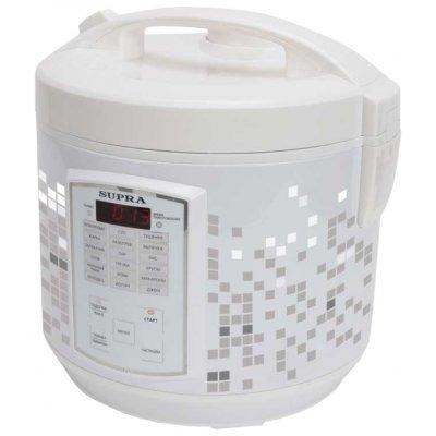 Мультиварка Supra MCS-5182 (MCS-5182)Мультиварки Supra<br>мультиварка<br>мощность 900 Вт<br>объем 5 л<br>электронное управление<br>поддержание тепла<br>отложенный старт<br>