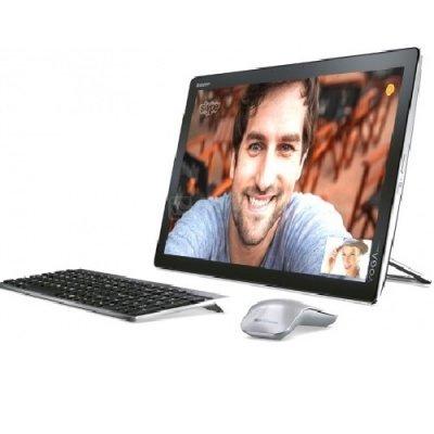 Моноблок Lenovo Yoga Home 500 (F0BN001GRK) (F0BN001GRK)Моноблоки Lenovo<br>i5-5200U 8Gb 500Gb + SSD 8Gb nV 920A 1Gb 21,5 FHD BT Cam Win10 Черный F0BN001GRK<br>
