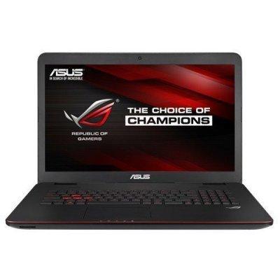 Ноутбук ASUS ROG G771JW (90NB0856-M03330) (90NB0856-M03330)Ноутбуки ASUS<br>i7-4750HQ 12Gb 1Tb nV GTX960M 2Gb 17,3 FHD DVD(DL) BT Cam 5200мАч Win10 Черный 90NB0856-M03330<br>
