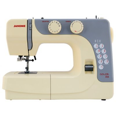 Швейная машина Janome Color 55 белый (COLOR 55) швейная машина janome dresscode белый