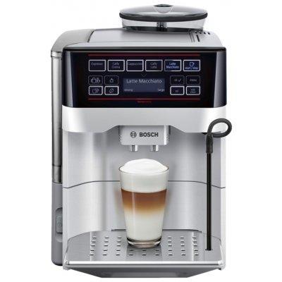 Кофеварка Bosch TES 60321 RW (TES 60321 RW)Кофеварки Bosch<br>кофеварка эспрессо<br>автоматическая<br>для зернового и молотого кофе<br>кофемолка с регулировкой степени помола<br>контроль крепости кофе<br>настройка температуры<br>регулировка порции воды<br>самоочистка от накипи<br>приготовление капучино<br>отключение при неиспользовании<br>одновременная раздача на 2 чашки<br>дисплей<br>