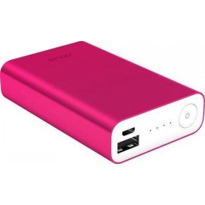 Внешний аккумулятор для портативных устройств ASUS ZenPower ABTU005 Li-Ion 10050mAh 2.4A розовый 1xUSB (90AC00P0-BBT030), арт: 227740 -  Внешние аккумуляторы для портативных устройств ASUS