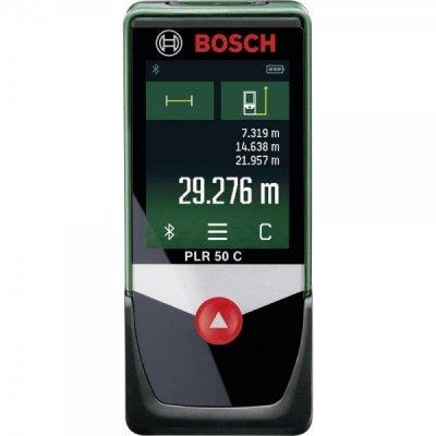 Дальномер Bosch PLR 50 C (603672220)Дальномеры Bosch<br>Лазерный дальномер Bosch PLR 50 C<br>