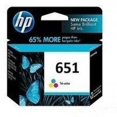 Картридж для струйных аппаратов HP C2P11AE (№651) для DeskJet Ink Advantage 5645, 5575. Цветной. 300 страниц. (C2P11AE) мфу hp deskjet ink advantage 3635 f5s 44 c