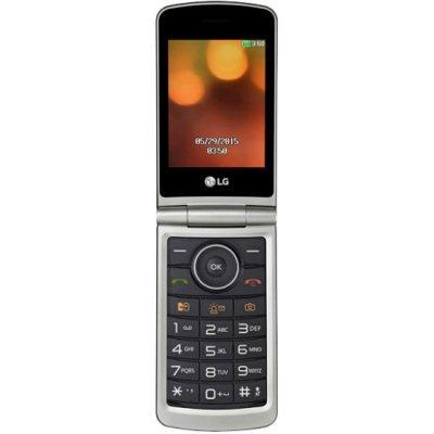 Мобильный телефон LG G360 красный (LGG360.ACISRD) мобильный телефон ginzzu m201 black 2 4 tft 240x320 2sim 1 3mp fm bt 1200mah