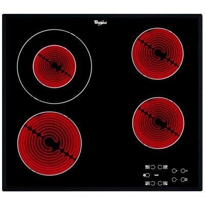 Электрическая варочная панель Whirlpool AKT 8130 BA (AKT 8130/BA)Электрические варочные панели Whirlpool<br>Варочная поверхность Whirlpool AKT 8130/BA черный<br>