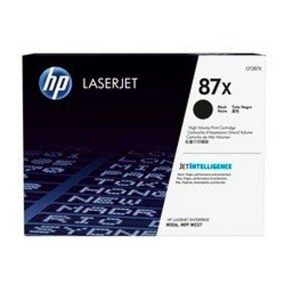 Тонер-картридж для лазерных аппаратов HP 87X для HP LaserJet Enterprise M506 черный (18 000 стр) (CF287X)Тонер-картриджи для лазерных аппаратов HP<br><br>