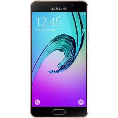 Смартфон Samsung Galaxy A5 (2016) розовое золото (SM-A510FEDDSER) мобильный телефон samsung galaxy a5 2016 16 gb sm a 510 f розовый