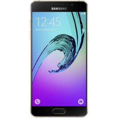 Смартфон Samsung Galaxy A5 (2016) золотой (SM-A510FZDDSER)Смартфоны Samsung<br>Android 5.1, поддержка двух SIM-карт, экран 5.2, разрешение 1920x1080, камера 13 МП<br>
