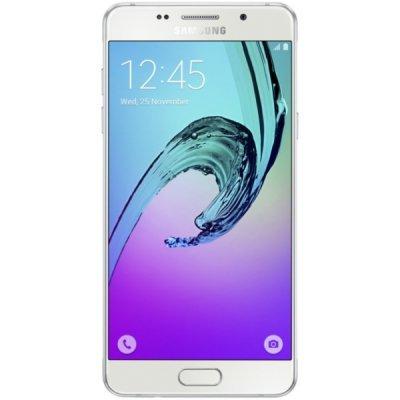 Смартфон Samsung Galaxy A5 (2016) белый (SM-A510FZWDSER)Смартфоны Samsung<br>Android 5.1, поддержка двух SIM-карт, экран 5.2, разрешение 1920x1080, камера 13 МП<br>