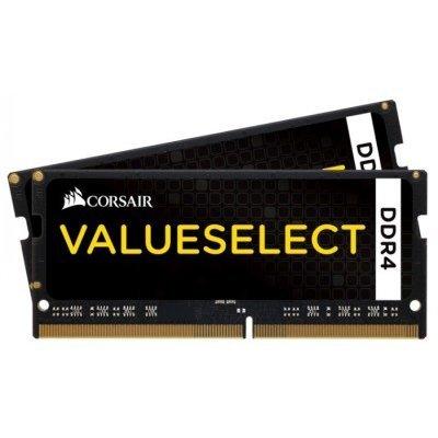 Модуль оперативной памяти ПК Corsair CMSO16GX4M2A2133C15 16Gb DDR4 (CMSO16GX4M2A2133C15)Модули оперативной памяти ПК Corsair<br>Память DDR4 2x8Gb 2133MHz Corsair CMSO16GX4M2A2133C15 RTL PC4-17000 CL15 SO-DIMM 260-pin 1.2В<br>