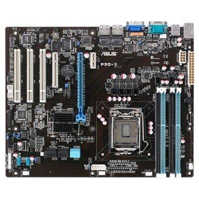 Материнская плата ПК ASUS P9D-X (90SB0380-M0UAY5)Материнские платы ПК ASUS<br>MB ASUS P9D-X. Intel&amp;#174; C222, s1150, ( Xeon E3-12xx v3), 4xDDR3 (32Gb/1333 ECC), VGA AST1300 with 64MB VRAM, 2 xi210AT GbitLAN, 1xPCIe-x16, 1xPCIe-x8,3xPCI,  2xSATA3+4xSATA2 RAID(0,1,5,10), 3xUSB2.0+2xUSB3.0, 1 x SATA DOM, ATX<br>