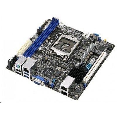 Материнская плата ПК ASUS P10S-I (90SB05E0-M0UAY0)Материнские платы ПК ASUS<br>MB ASUS P10S-I Intel&amp;#174; C232, s1151, ( Xeon E3-12xx v5), 2xDDR4 (32Gb/2133 ECC UDIMM), VGA AST2400 with 32MB VRAM, 2 xi210AT GbitLAN+ 1 Mgmt LAN, 1xPCIe-x16, 6xSATA3+1xM.2 Conn (2242), RAID(0,1,5,10), 2xUSB2.0+2xUSB3.0, mITX<br>