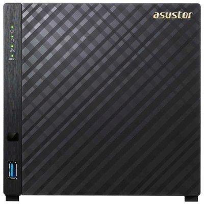 Сетевой накопитель NAS Asustor AS1004T (AS1004T)Сетевые накопители NAS Asustor<br>ASUSTOR 4-Bay NAS/CPU (2Core)/512MBDDR3/noHDD,LFF(SATAll,SATAIII,SSD)/1x1GbE(LAN)/2xUSB3.0/4ip camera license<br>