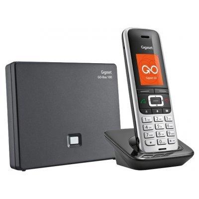 VoIP-телефон Gigaset S850A GO (S30852-H2625-S301)VoIP-телефоны Gigaset<br>GIGASET S850A GO (комплект из базы и трубки, цветной дисплей, поддержка Bluetooth, автоответчик)<br>