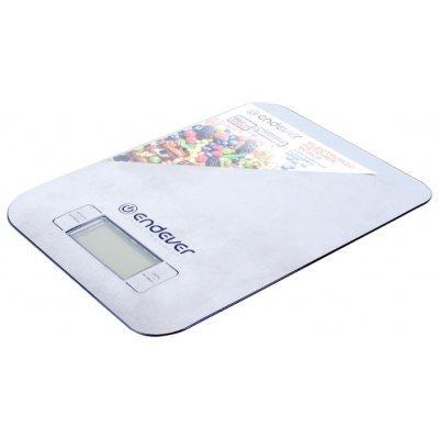 Весы кухонные Endever KS-525 (KS-525)Весы кухонные Endever<br>электронные кухонные весы<br>платформа для взвешивания<br>нагрузка до 5 кг<br>точность измерения 1 г<br>автовыключение<br>платформа из нержавеющей стали<br>