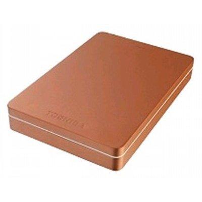 Внешний жесткий диск Toshiba CANVIO ALU 2TB красный (HDTH320ER3CA) (HDTH320ER3CA) переносной жесткий диск 320