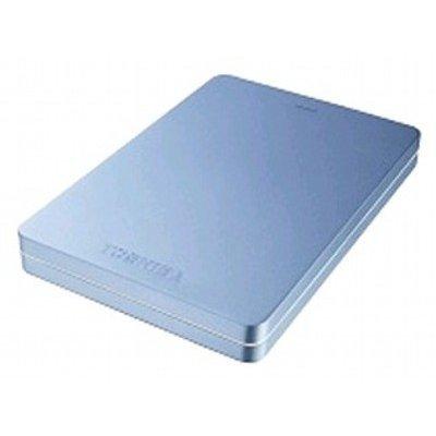 все цены на  Внешний жесткий диск Toshiba Canvio Alu 500Gb голубой (HDTH305EL3AA) (HDTH305EL3AA)  онлайн