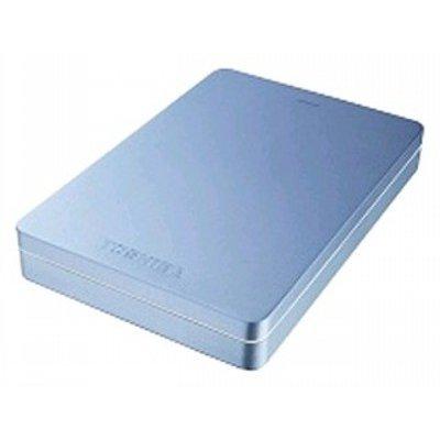 Внешний жесткий диск Toshiba Canvio Alu S3 2Tb голубой (HDTH320EL3CA) (HDTH320EL3CA)