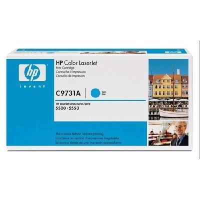 Тонер-картридж для лазерных аппаратов HP C9731AC голубой (C9731AC)Тонер-картриджи для лазерных аппаратов HP<br>HP C9731AC Cyn Contr LJ Toner Cartridge<br>