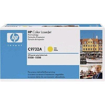 Тонер-картридж для лазерных аппаратов HP C9732AC желтый (C9732AC)Тонер-картриджи для лазерных аппаратов HP<br>HP C9732AC Ylw Contr LJ Toner Cartridge<br>