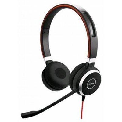 все цены на Компьютерная гарнитура Jabra EVOLVE 40 UC Stereo (6399-829-209) онлайн
