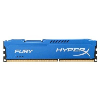 Модуль оперативной памяти ПК Kingston HX313C9F/8 8Gb DDR3 (HX313C9F/8)Модули оперативной памяти ПК Kingston<br>Kingston 8GB 1333MHz DDR3 CL9 DIMM HyperX FURY Blue Series<br>