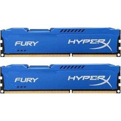 Модуль оперативной памяти ПК Kingston HX316C10FK2/8 8Gb DDR3 (HX316C10FK2/8)Модули оперативной памяти ПК Kingston<br>Kingston 8GB 1600MHz DDR3 CL10 DIMM (Kit of 2) HyperX FURY Blue Series<br>