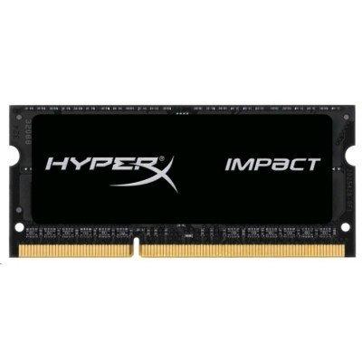 Модуль оперативной памяти ПК Kingston HX318LS11IB/8 8Gb DDR3 (HX318LS11IB/8)Модули оперативной памяти ПК Kingston<br>Kingston 8GB 1866MHz DDR3L CL11 SODIMM 1.35V HyperX Impact Black<br>