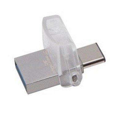 USB накопитель Kingston DTDUO3/16GB (DTDUO3/16GB)USB накопители Kingston<br>Kingston 16GB DT microDUO USB 3.0 OTG<br>