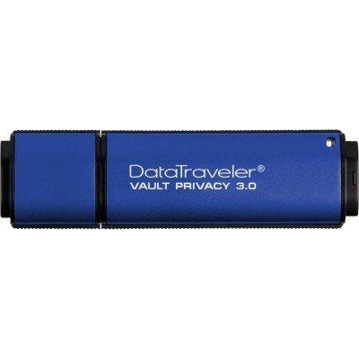 USB накопитель Kingston DTVP30/32GB (DTVP30/32GB)USB накопители Kingston<br>Kingston 32GB USB 3.0 DataTraveler Vault with Privacy TAA compliant<br>
