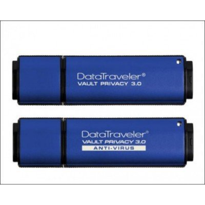 USB накопитель Kingston DTVP30/8GB (DTVP30/8GB)USB накопители Kingston<br>Kingston 8GB USB 3.0 DataTraveler Vault with Privacy TAA compliant<br>