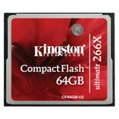 Карта памяти Kingston 64GB Compact Flash CF/64GB-U2 (CF/64GB-U2)