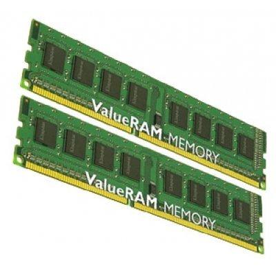 Модуль оперативной памяти ПК Kingston KVR16N11S8K2/8 8Gb DDR3 (KVR16N11S8K2/8)Модули оперативной памяти ПК Kingston<br>Kingston DIMM 8GB 1600MHz DDR3 Non-ECC CL11 DIMM (Kit of 2) SR x8<br>